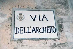 Via dell'Archetto